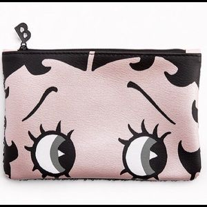 New! Betty Boop Makeup Bag